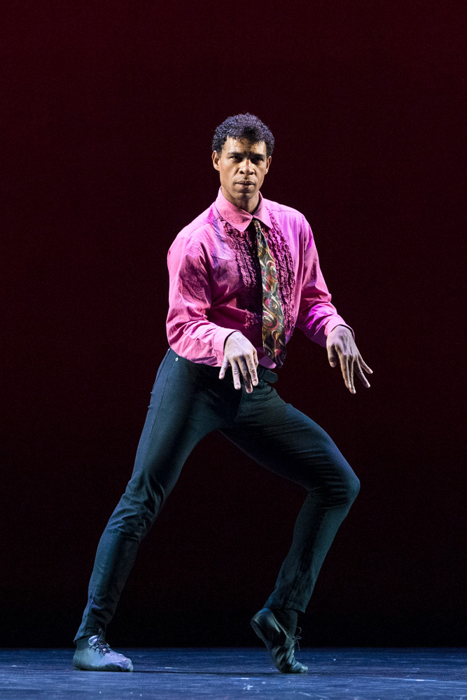 Carlos Acosta in Rooster.© Foteini Christofilopoulou. (Click image for larger version)