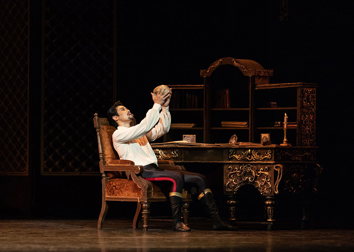 Ryoichi Hirano in Mayerling.© Helen Maybanks, courtesy the Royal Opera House. (Click image for larger version)