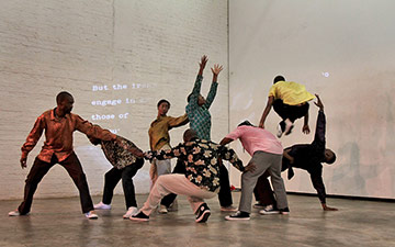 Via Katlehong Dance in Via Kanana.© John Hogg. (Click image for larger version)