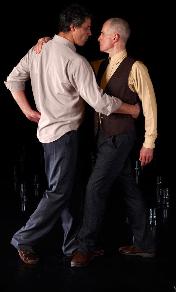 Mark Boldin and Nicholas Minns in Ieva Kuniskis' They Live Next Door.© Judita Kuniskyte. (Click image for larger version)