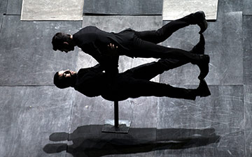Dimitris Papaioannou's The Great Tamer.© Julian Mommert. (Click image for larger version)