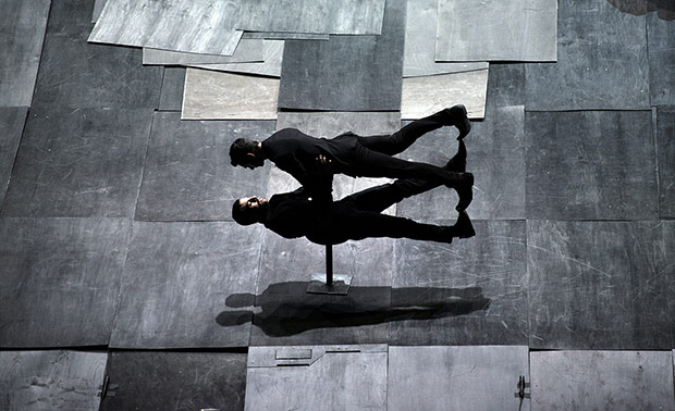 Dimitris Papaioannou's <I>The Great Tamer</I>.<br />© Julian Mommert. (Click image for larger version)