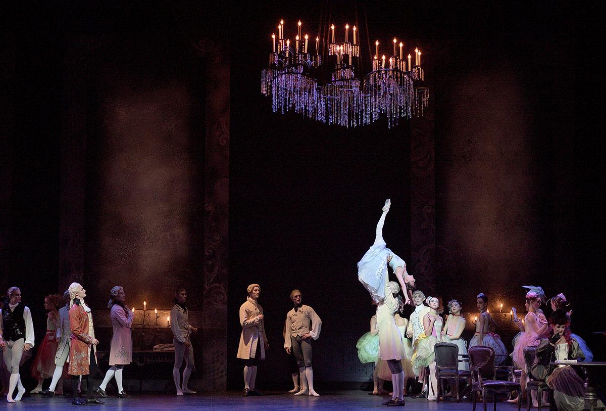 English National Ballet in Manon.© Laurent Liotardo. (Click image for larger version)