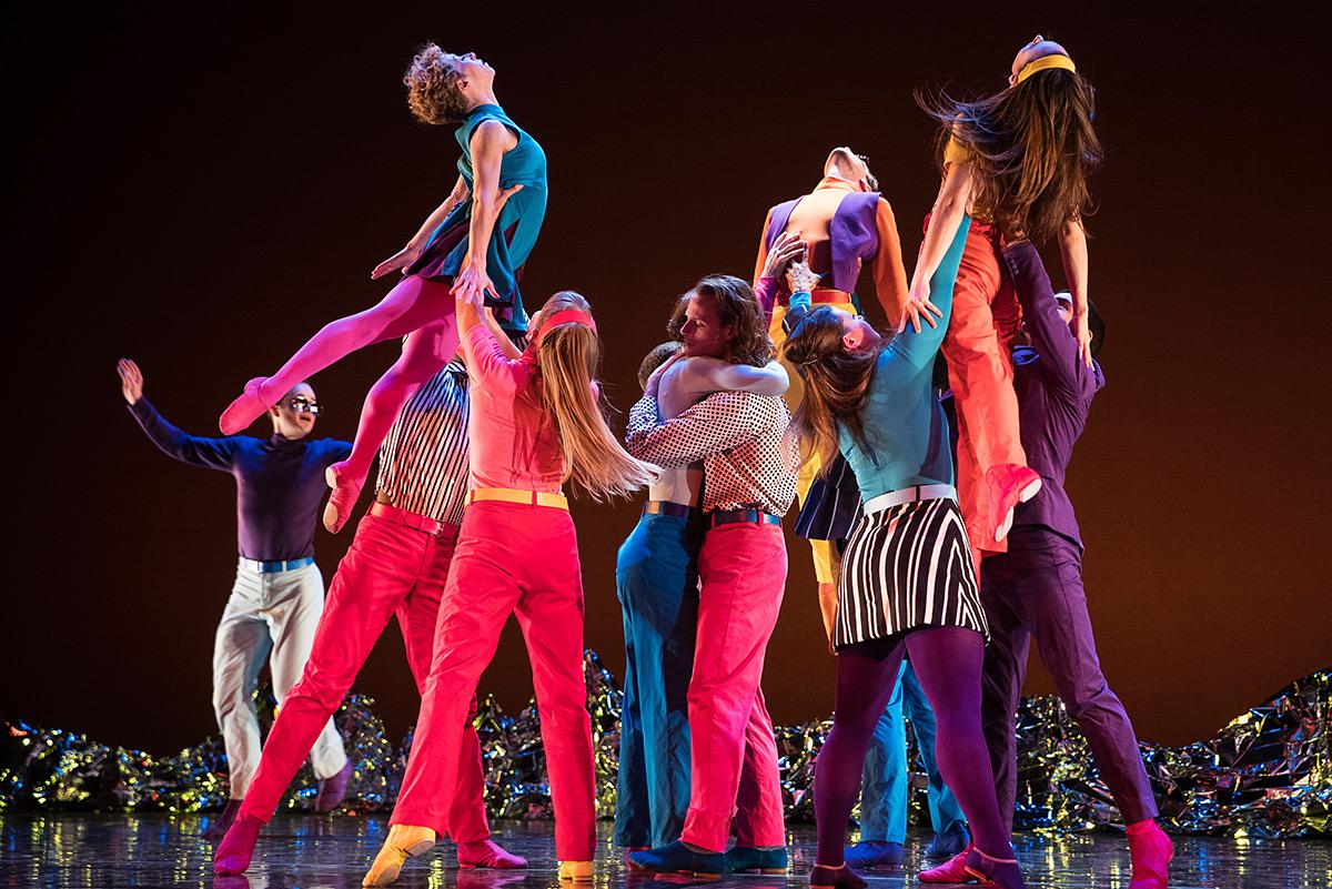Mark Morris Dance Group in Pepperland.© Mat Hayward. (Click image for larger version)
