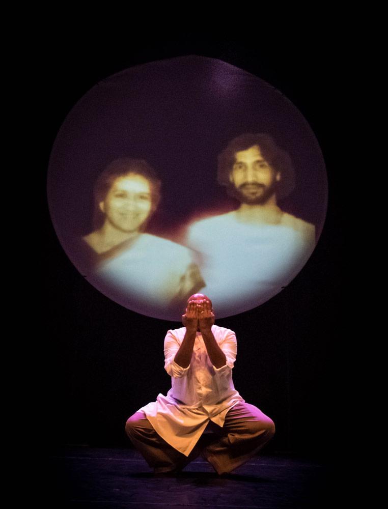 Shane Shambhu in <I>Confessions of a Cockney Temple Dancer</I>.<br />© Shane Shambhu. (Click image for larger version)