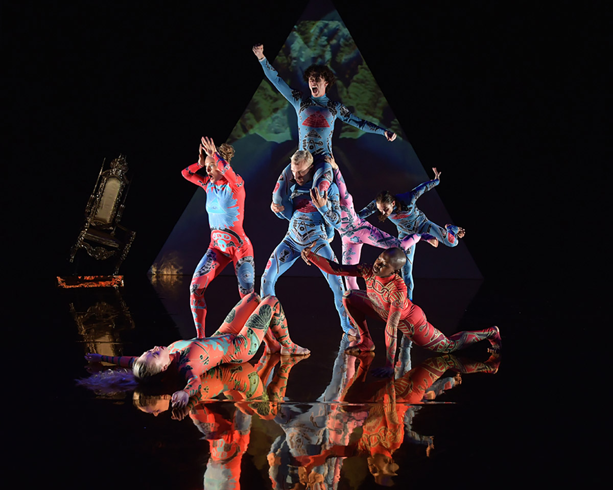 Rosie Kay Dance Company in MK Ultra.© Brian Slater. (Click image for larger version)