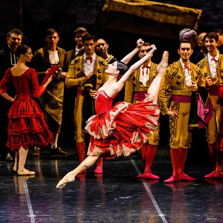 Nicoletta Manni in <I>Don Quixote</I>.<br />© Darren Thomas. (Click image for larger version)