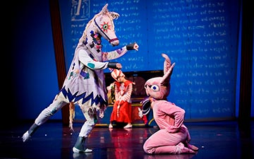 ODC/Dance in The Velveteen Rabbit.© Steve DiBartolomeo. (Click image for larger version)