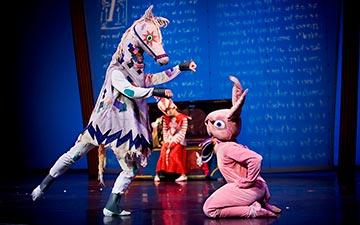 ODC/Dance in The Velveteen Rabbit.© Steve DiBartolomeo. (Click image for larger version)