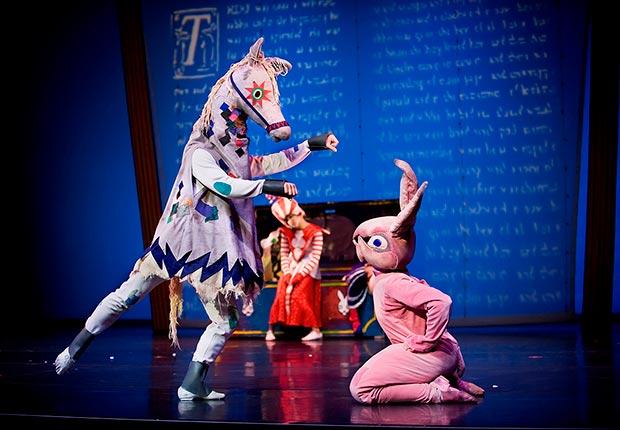 ODC/Dance in <I>The Velveteen Rabbit</I>.<br />© Steve DiBartolomeo. (Click image for larger version)