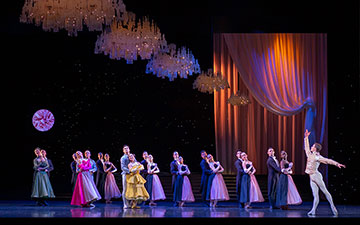 Scottish Ballet in Cinderella.© Andy Ross. (Click image for larger version)