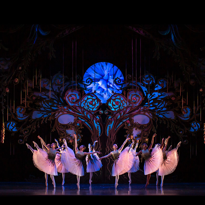 Scottish Ballet in <I>Cinderella</I>.<br />© Andy Ross. (Click image for larger version)