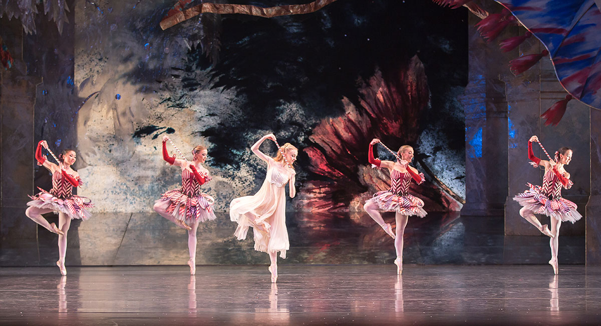 Karla Doorbar with the Mirliton in The Nutcracker.© Andrew Ross. (Click image for larger version)