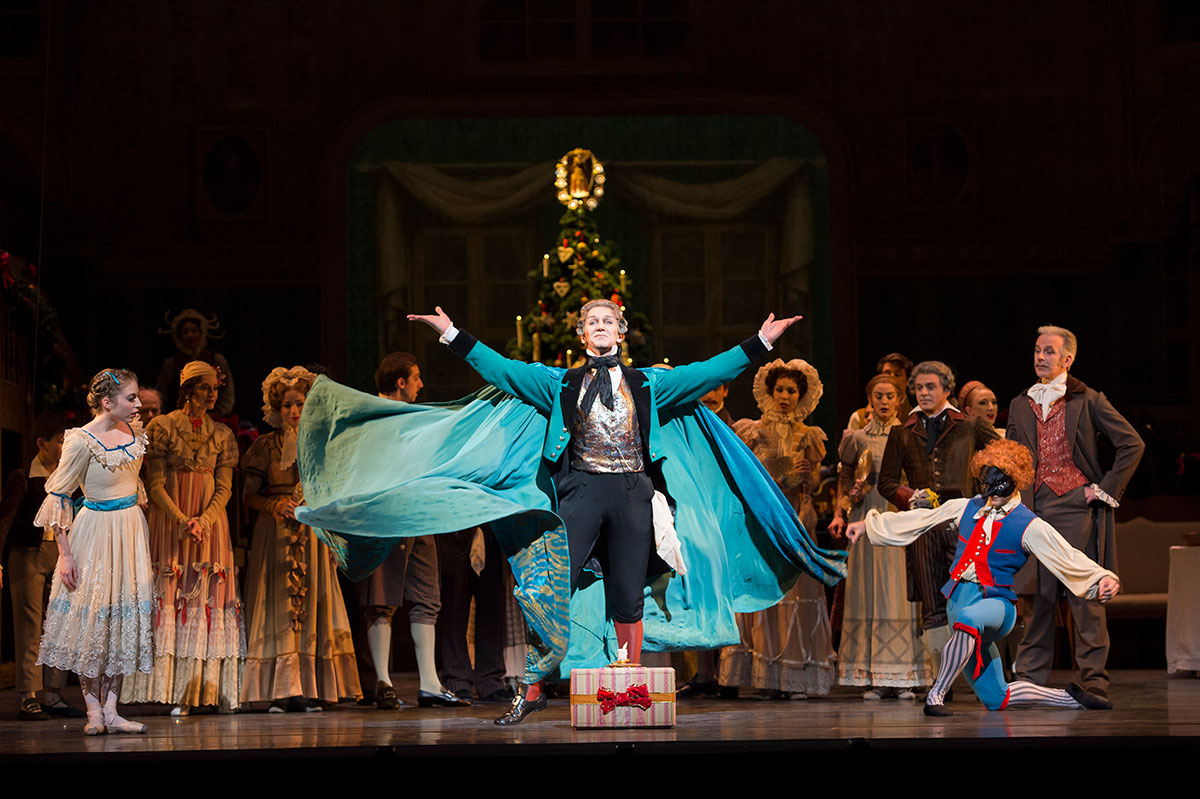 Gary Avis in The Nutcracker.© Bill Cooper, 2013 Royal Opera House. (Click image for larger version)