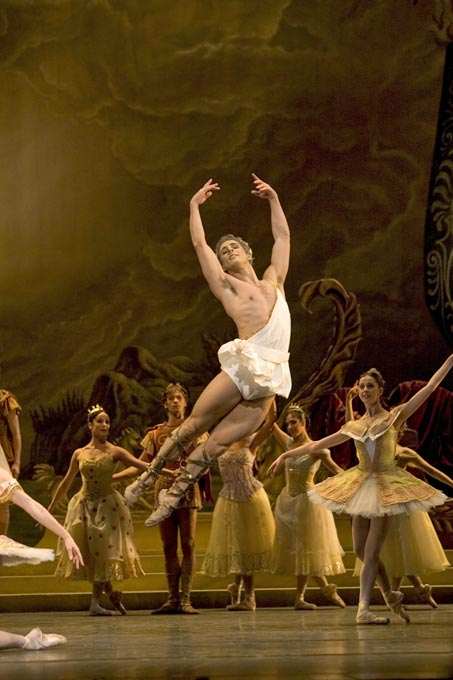 Martin Harvey in Sylvia.© Bill Cooper, courtesy the Royal Opera House. (Click image for larger version)