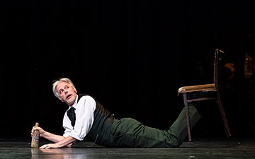 Christopher Saunders in Winter Dreams.© Foteini Christofilopoulou, courtesy the Royal Opera House. (Click image for larger version)