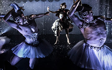Company XIV in Nutcracker Rouge.© Mark Shelby Perry. (Click image for larger version)