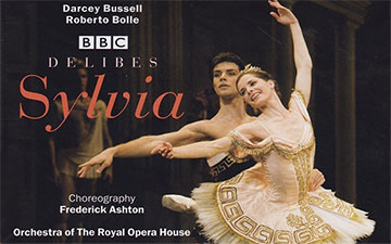Darcey Bussell and Roberto Bolle in Sylvia on Opus Arte video from Amazon.© Opus Arte. (Click image for larger version)