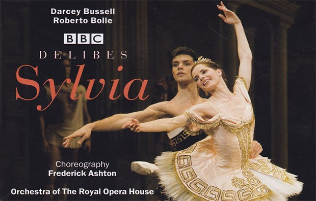 """Darcey Bussell and Roberto Bolle in <I>Sylvia</I> on <a href=""""https://www.amazon.co.uk/Delibes-Sylvia-NTSC-Darcey-Bussell/dp/B000WMHTAU/"""">Opus Arte video from Amazon</a>.<br />© Opus Arte. (Click image for larger version)"""