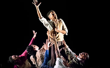 AAADT in Rennie Harris' Lazarus.© Paul Kolnik. (Click image for larger version)