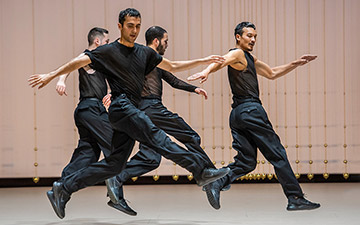 Rosas in Anne Teresa De Keersmaeker's The Six Brandenburg Concertos.© Stephanie Berger. (Click image for larger version)