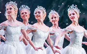 The Royal Ballet in The Nutcracker.© Tristram Kenton, © 2015 Royal Opera House. (Click image for larger version)
