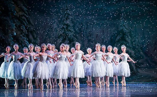 The Royal Ballet in <I>The Nutcracker</I>.<br />© Tristram Kenton, © 2015 Royal Opera House. (Click image for larger version)