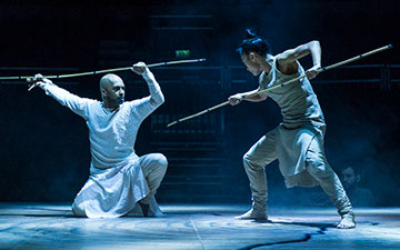 Akram Khan and Christine Joy Ritter in Until the Lions.© Foteini Christofilopoulou. (Click image for larger version)