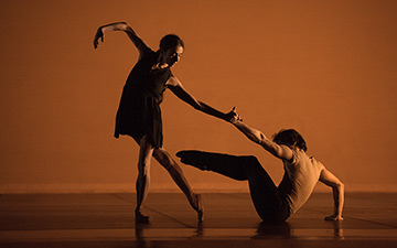 Alessandra Ferri and Herman Cornejo.© Nicolay Krusser. (Click image for larger version)