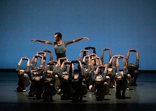 Taylor Stanley in Justin Peck's <I>Principia</I>.<br />© Erin Baiano. (Click image for larger version)