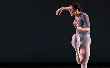 Tiler Peck in Justin Peck's Principia.© Erin Baiano. (Click image for larger version)