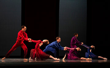 San Francisco Ballet in Millepied's Appassionata.© Erik Tomasson. (Click image for larger version)