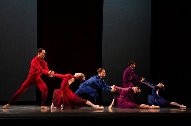 San Francisco Ballet in Millepied's <I>Appassionata</I>.<br />© Erik Tomasson. (Click image for larger version)