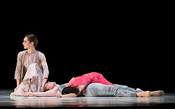 San Francisco Ballet in Marston's Snowblind.© Erik Tomasson. (Click image for larger version)