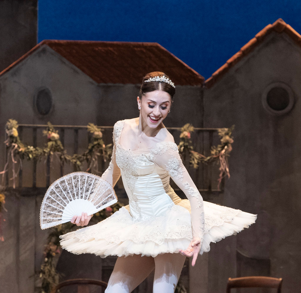 Marianela Nuñez in Don Quixote.© Foteini Christofilopoulou, courtesy the Royal Opera House. (Click image for larger version)