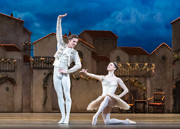 Marianela Nuñez and Vadim Muntagirov in <I>Don Quixote</I>.<br />© Foteini Christofilopoulou, courtesy the Royal Opera House. (Click image for larger version)