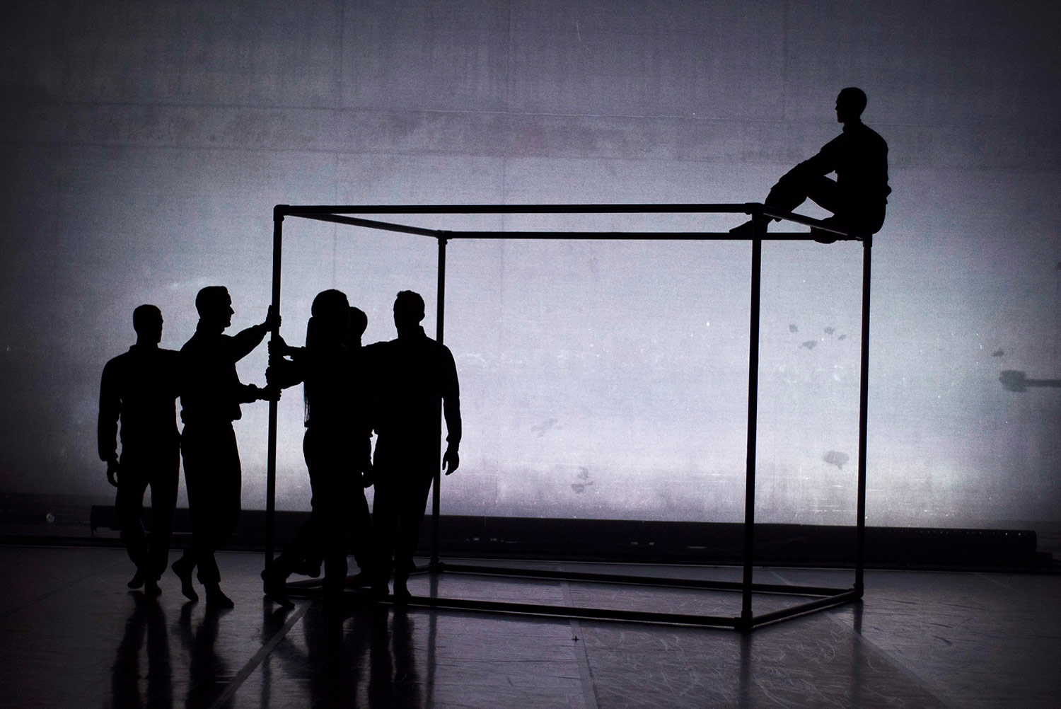 BalletBoyz in <I>Them</I>.<br />© George Piper. (Click image for larger version)
