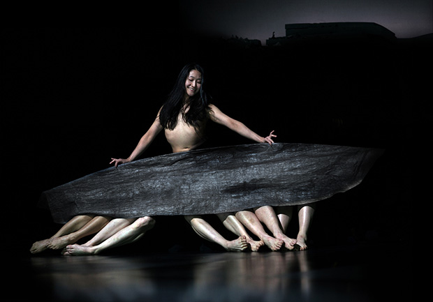 Tanztheater Wuppertal Pina Bausch in <I>Since She</I>.<br />© Julian Mommert. (Click image for larger version)