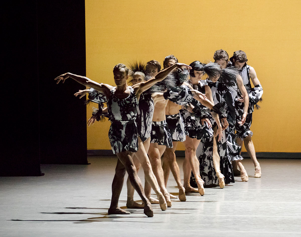 New York City Ballet in in Kyle Abraham's The Runaway.© Paul Kolnik. (Click image for larger version)