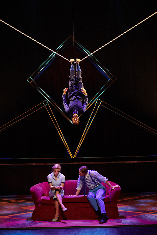 Cirque Éloize in Hotel.© Pierre Manning. (Click image for larger version)