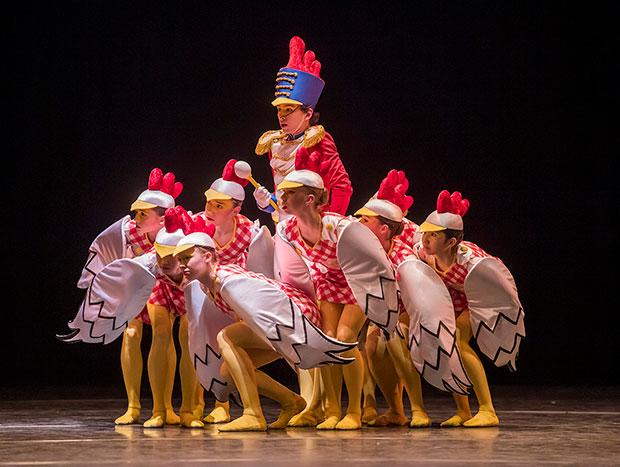 The Royal Ballet School in <I>The Cunning Little Vixen</I>.<br />© Tristram Kenton, courtesy the Royal Opera House. (Click image for larger version)
