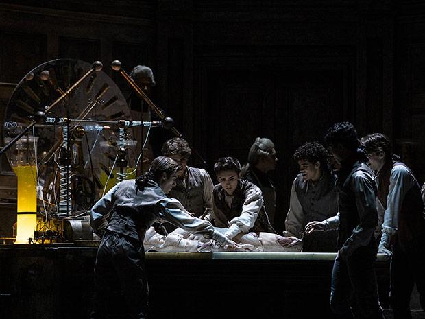The Royal Ballet in Frankenstein.© Andrej Uspenski, courtesy the Royal Opera House. (Click image for larger version)
