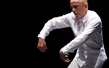 Saburo Teshigawara in The Idiot.© Elliott Franks. (Click image for larger version)