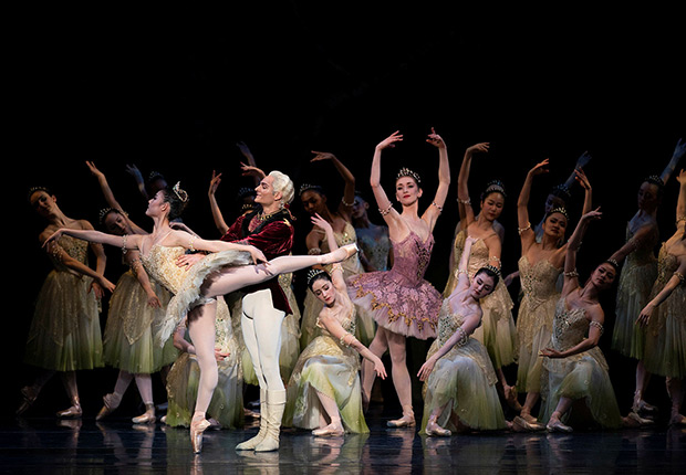 San Francisco Ballet in Tomasson's <I>The Sleeping Beauty</I>.<br />© Erik Tomasson. (Click image for larger version)