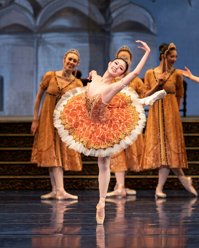 Wona Park in Tomasson's The Sleeping Beauty.© Erik Tomasson. (Click image for larger version)