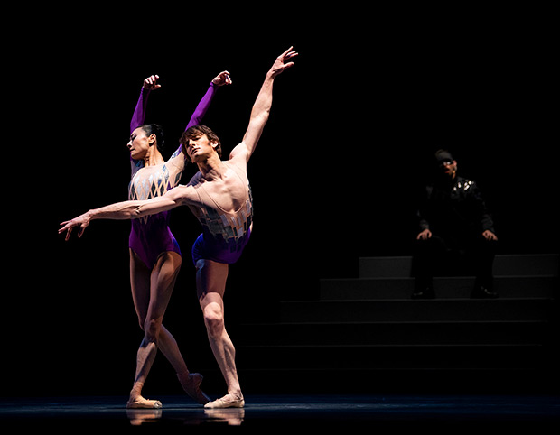 "Yuan Yuan Tan and Aaron Robison in Possokhov's <I>""...two united in a single soul...""</I>.<br />© Erik Tomasson. (Click image for larger version)"