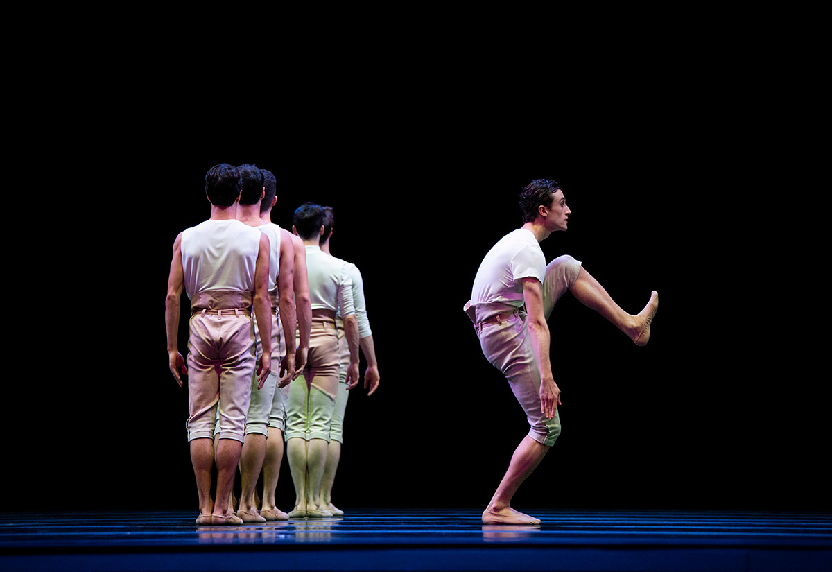 San Francisco Ballet in McIntyre's Your Flesh Shall Be a Great Poem.© Erik Tomasson. (Click image for larger version)