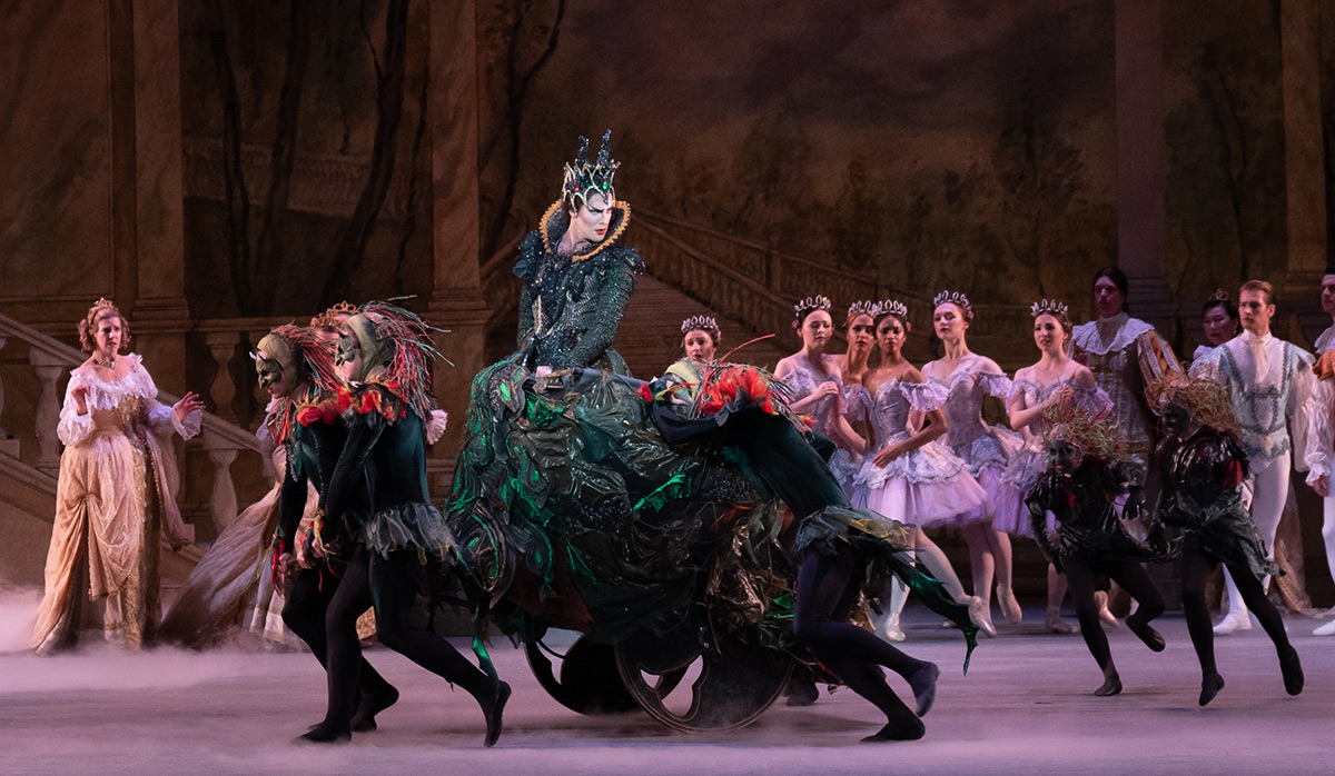 Daniel Roberge in the The Sleeping Beauty.© Victoria Pickering. (Click image for larger version)