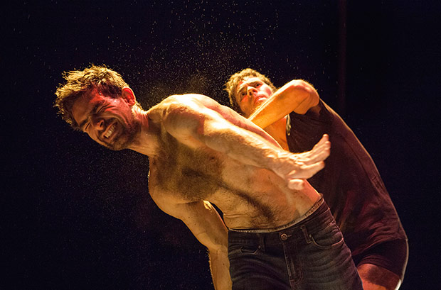 Albert Quesada & Zoltán Vakulya in <i>OneTwoThreeOneTwo</i>.<br />© Benjamin Sommabere. (Click image for larger version)