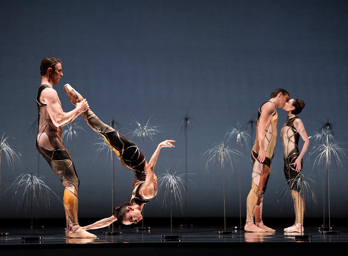 San Francisco Ballet in Pita's <I>Bjork Ballet</I>.<br />© Erik Tomasson. (Click image for larger version)